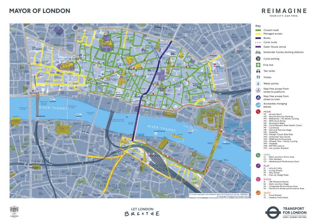 London Car-Free Day, 22 Sep 2019