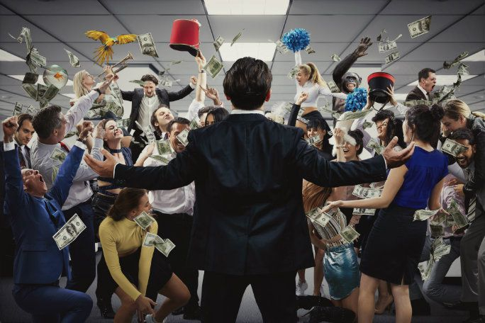 Wolf of Wall Street: Immersive Theatre in Moorgate
